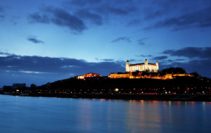 Bratislava is the only capital in the world that borders two countries; Austria and Hungary.