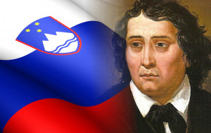 Commemorates the death of France Prešeren (1800 - 1849), a Slovene poet who is regarded as the greatest Slovene classical author
