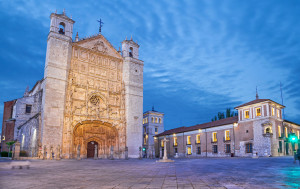The patron saint of Valladolid is Saint Peter de Regalado, who was a 15th century Franciscan monk