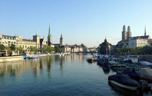 St Peter's Church in Zürich has the largest church clock face in Europe, measuring 8.7m in diameter.