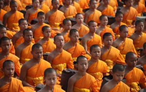 Marks the start of the three month period when Monks have to stay in the one place