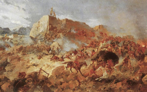 Memorial Day for the heroes of the 1881 battle with the Russians at Goektepe.