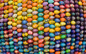 The Orthodox church uses the Julian calendar for the calculation of Easter, which can often mean that Orthodox Easter falls later than Easter observed elsewhere