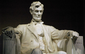 Abraham Lincoln's birthday falls close to George Washington's, but Lincoln's is not a federal holiday. Some states still celebrate his birthday along with George Washington's