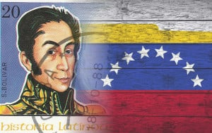 Simón Bolívar led Venezuela, Colombia , Ecuador, Peru and Bolivia to independence from the Spanish Empire