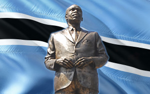 Seretse Khama founded the Botswana Democratic Party in 1962 and became Prime Minister in 1966