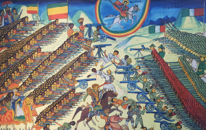 Commemorates Ethiopia's victory over Italy in 1896, which secured Ethiopian sovereignty