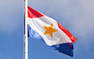The flag of Saba was adopted on December 6th 1985. Saba day is observed on the first Friday in December
