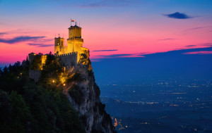 San Marino was founded in 301 AD by St. Marinus, a stone mason from Croatia who wanted to escape persecution by the emperor Diocletian