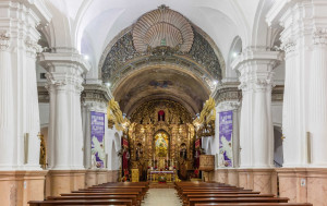 The Church of Santa María de África was consecrated on August 5th 1752