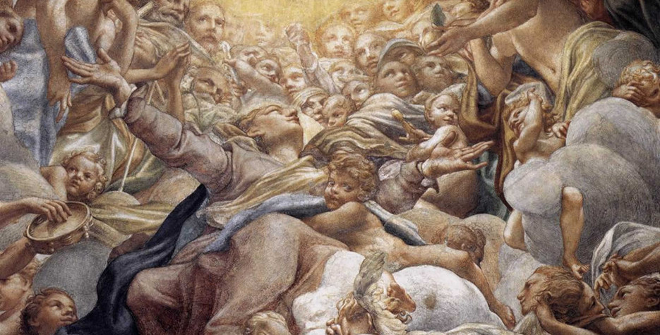 Vigil of Assumption Day in Vatican City in 2021