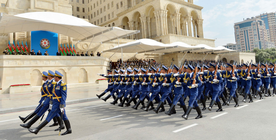Armed Forces Day in Azerbaijan in 2020