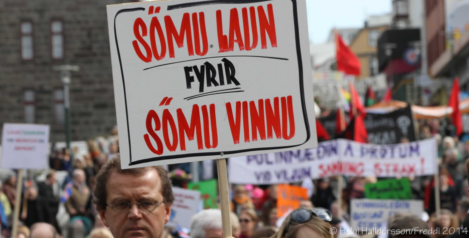 Workers' Day in Iceland in 2021