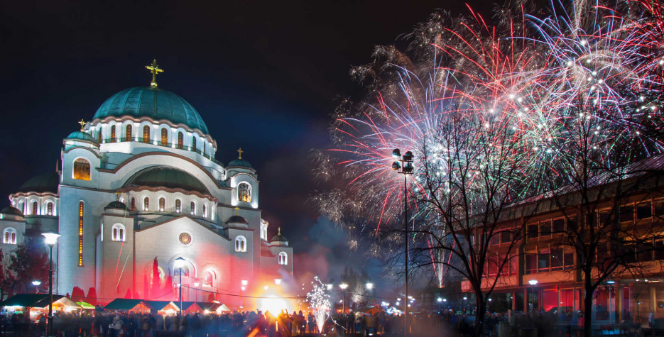 Serbian New Year in Serbia in 2021