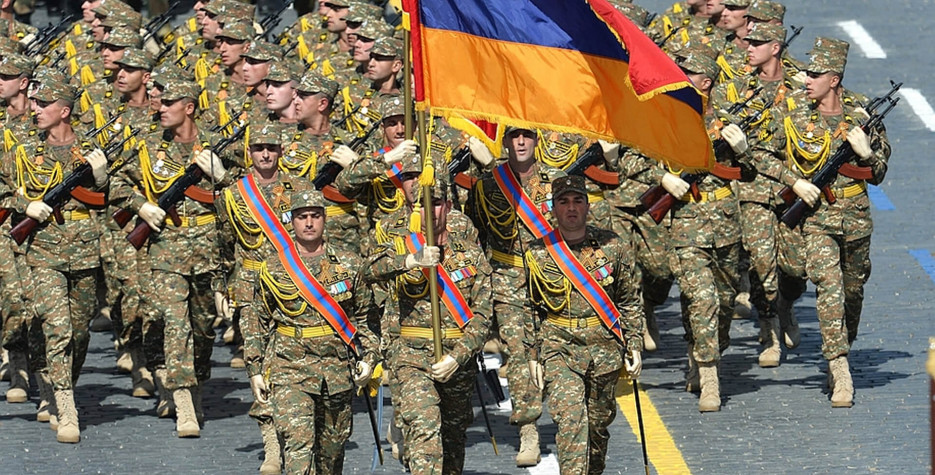 National Army Day in Armenia in 2021