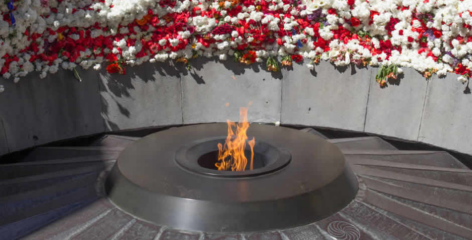 Genocide Memorial Day in Armenia in 2021