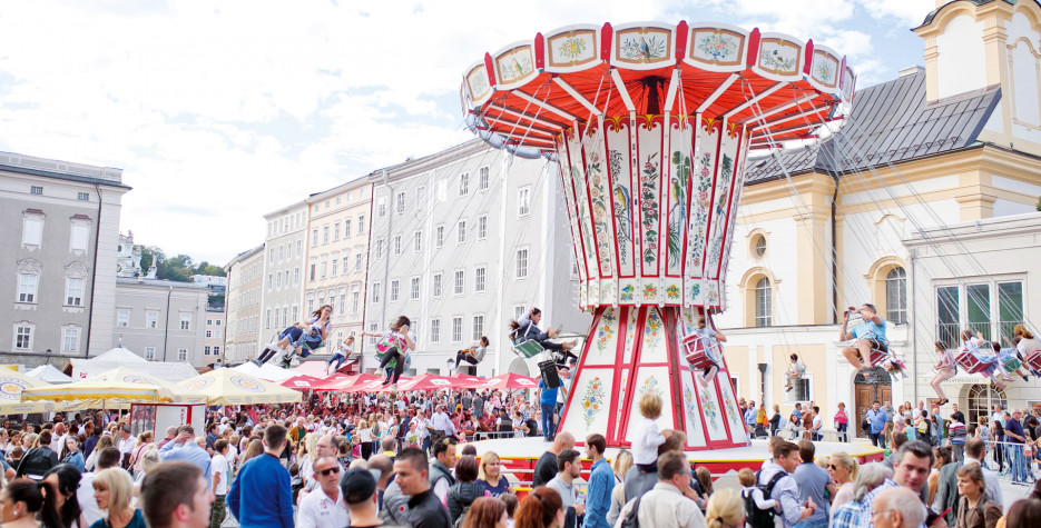 Saint Rupert's Day in Salzburg in 2020