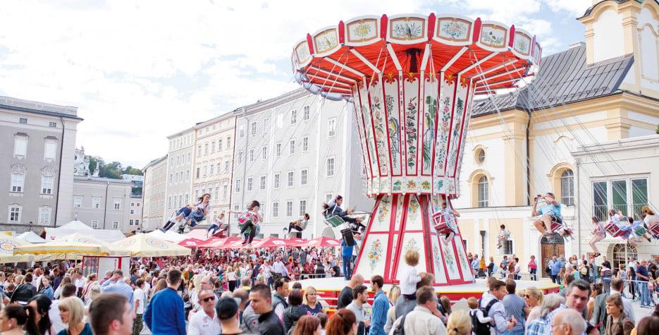 Saint Rupert's Day in Salzburg in 2020