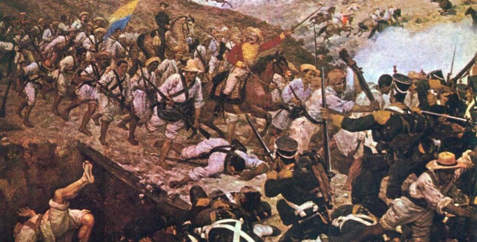 Battle of Boyacá in Colombia in 2020
