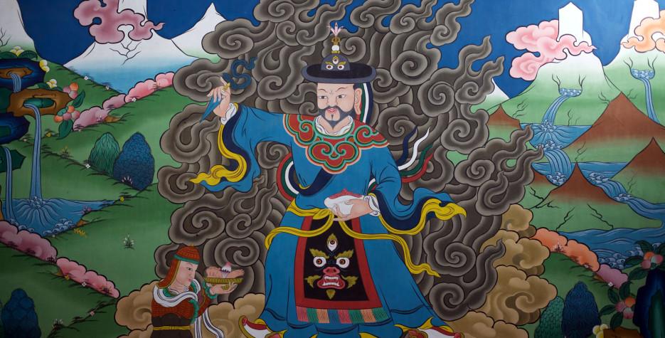 Death Anniversary of Zhabdrung in Bhutan in 2022