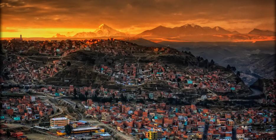 La Paz day in La Paz in 2021