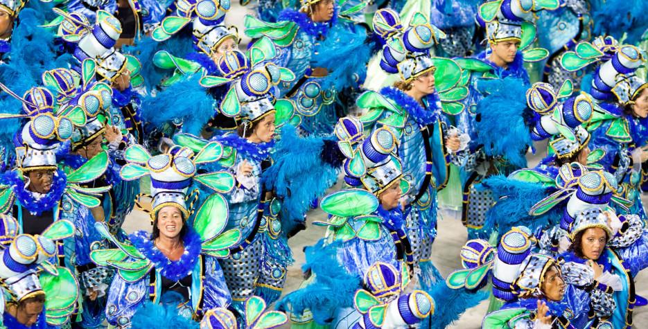 Carnival in Brazil in 2020