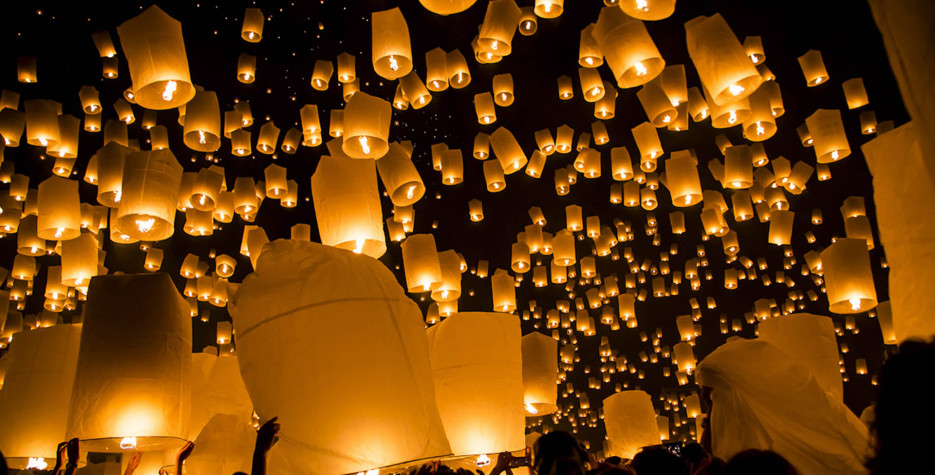 Pre-Full Moon Day of Thadingyut in Myanmar in 2020