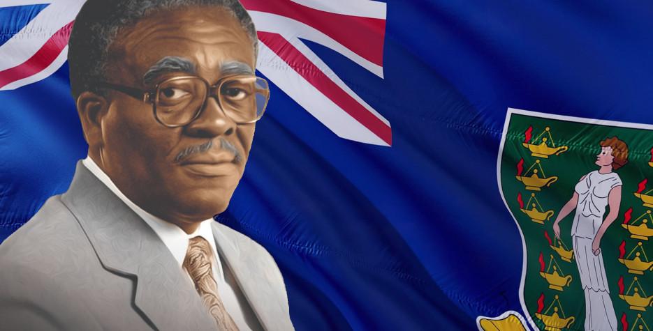 Hamilton Lavity Stoutt's Birthday in British Virgin Islands in 2020