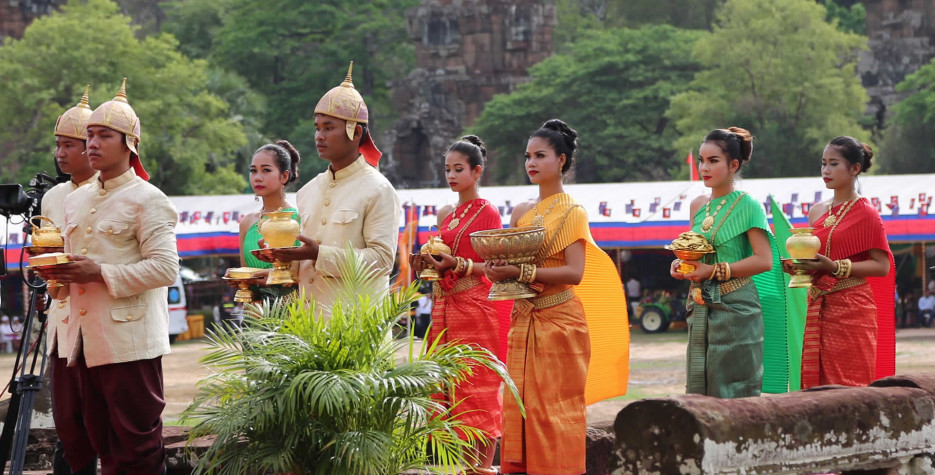 Royal Plowing Ceremony in Cambodia in 2022