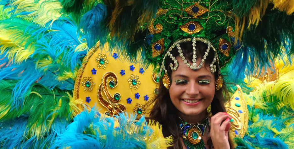 Carnival Tuesday in Bolivia in 2020