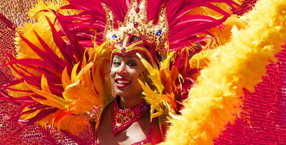 Carnival Monday in Dominica in 2021