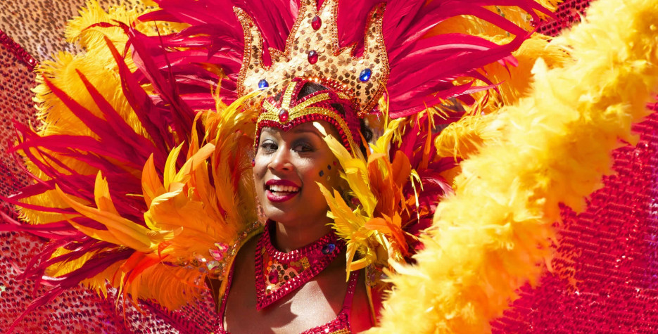Carnival Monday in French Guiana in 2020