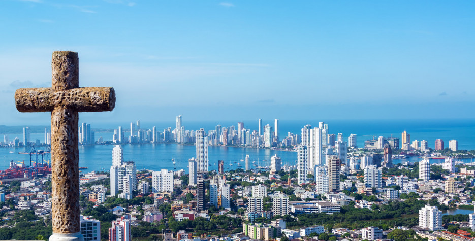 Independence of Cartagena in Colombia in 2019