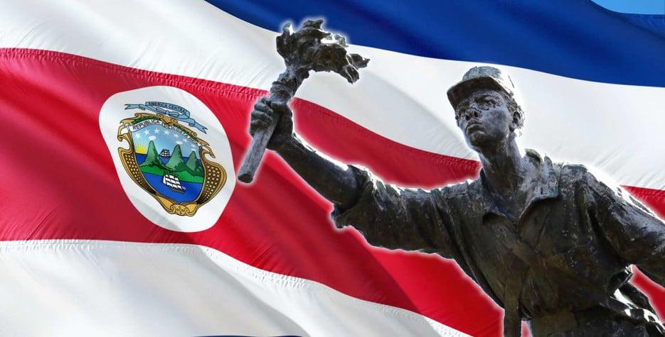 Juan Santamaria Day in Costa Rica in 2021