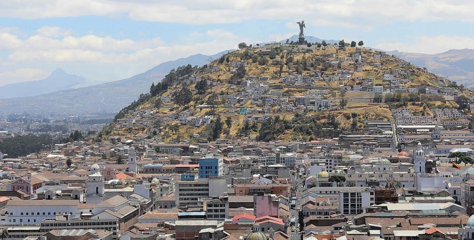 Foundation of Quito Day in Ecuador in 2020