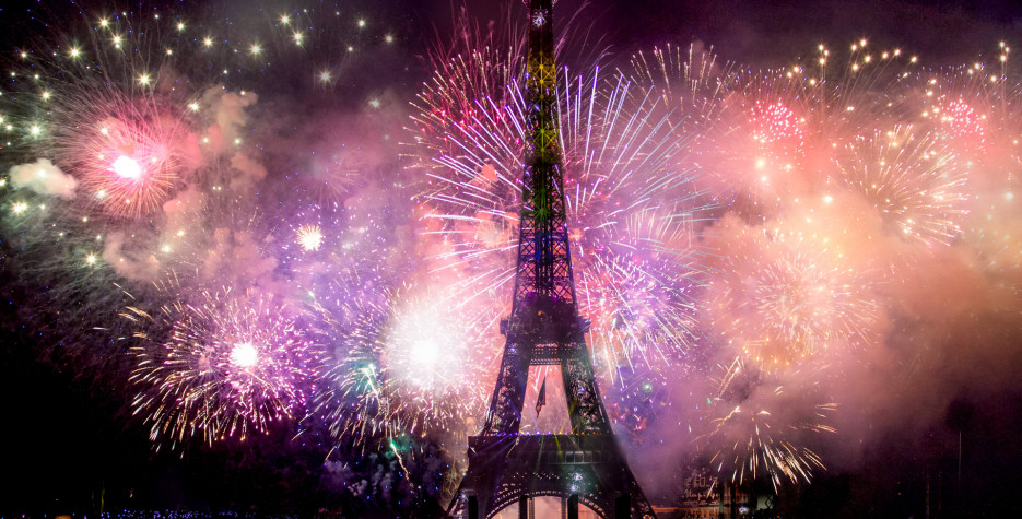 New Year's Day in France in 2021