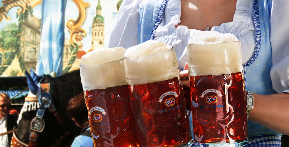 Oktoberfest in Germany in 2019