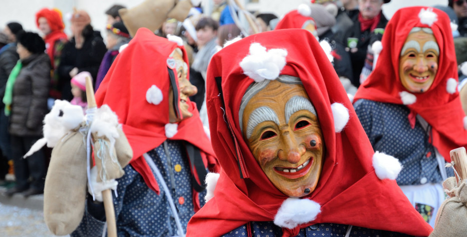 Fasching in Germany in 2021