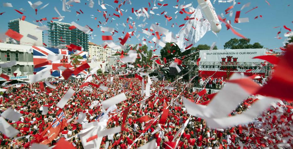 National Day in Gibraltar in 2019