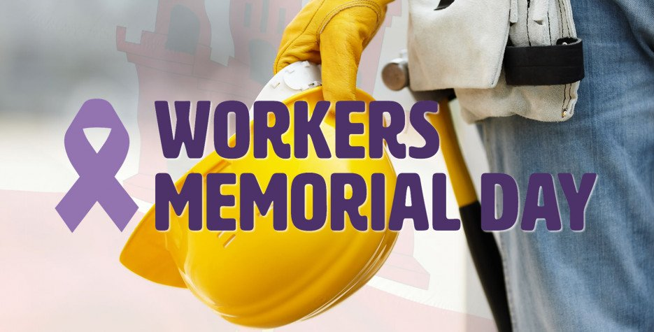 Workers' Memorial Day in Gibraltar in 2020