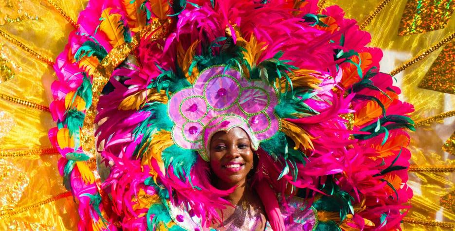 Carnival Monday in Grenada in 2021
