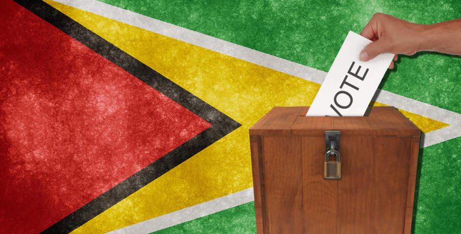 Guyana Elections in Guyana in 2020