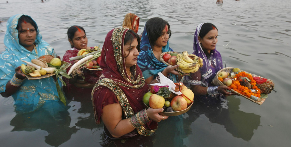 Chhath Puja in India in 2019