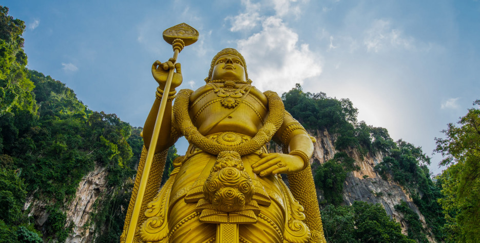 Thaipusam in Malaysia in 2020