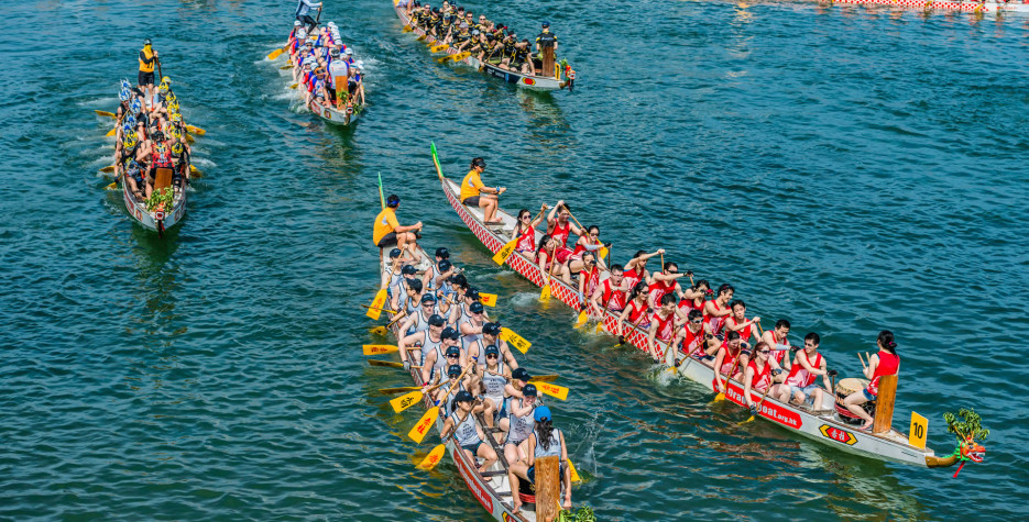 Dragon Boat Festival in Hong Kong in 2021