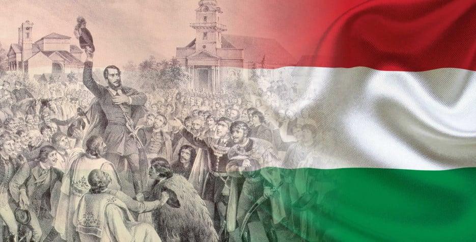 Hungary Revolution Day around the world in 2021
