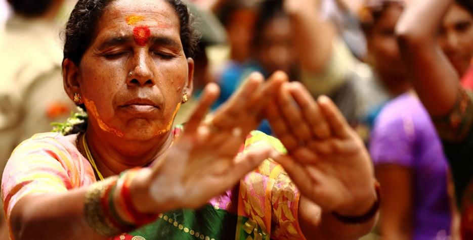 Bonalu in Telangana in 2020