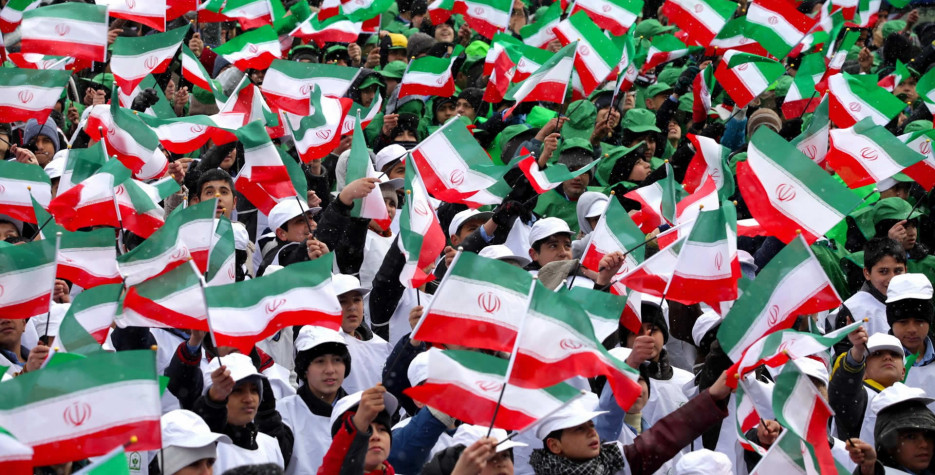 Islamic Revolution Day in Iran in 2020