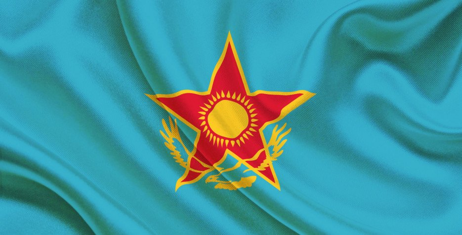 Defender's Day in Kazakhstan in 2020