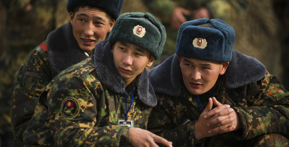 Fatherland Defender's Day in Kyrgyzstan in 2022